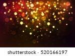 abstract texture  light bokeh... | Shutterstock .eps vector #520166197