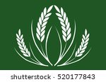 agriculture industry rice icon... | Shutterstock . vector #520177843