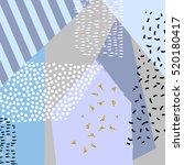 modern abstract design poster ... | Shutterstock .eps vector #520180417