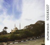 Small photo of Mohamed Ali mosque in Cairo,Egypt.