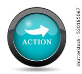 action icon. action website... | Shutterstock . vector #520185067
