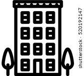 house  icon | Shutterstock .eps vector #520192147