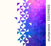 abstract  geometric backgrounds. | Shutterstock .eps vector #520199833