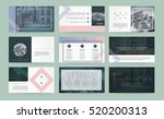 original presentation templates ... | Shutterstock .eps vector #520200313