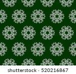 modern floral seamless pattern. ...   Shutterstock .eps vector #520216867