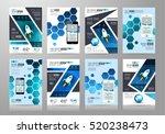 set of brochure templates ... | Shutterstock .eps vector #520238473