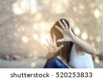 woman bondage in angle of... | Shutterstock . vector #520253833