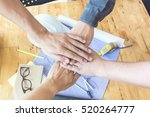 reative group of designers... | Shutterstock . vector #520264777