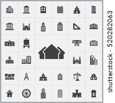 architecture icons universal...   Shutterstock .eps vector #520282063
