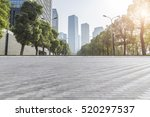 empty floor with modern... | Shutterstock . vector #520297537
