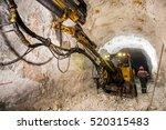gold mining underground | Shutterstock . vector #520315483