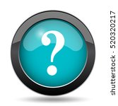 question mark icon. question... | Shutterstock . vector #520320217