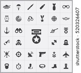 army icons universal set for... | Shutterstock .eps vector #520326607