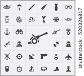 army icons universal set for... | Shutterstock .eps vector #520326817