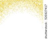 gold glitter texture. golden... | Shutterstock .eps vector #520327417