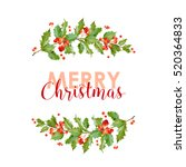 new year and christmas card  ...   Shutterstock .eps vector #520364833