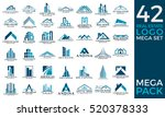 mega set and big group  real... | Shutterstock .eps vector #520378333