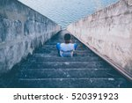 alone and scared   Shutterstock . vector #520391923