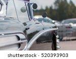 Close Up Of An Old Car. Part O...