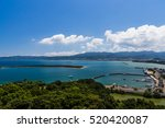 tomioka bay view from above in... | Shutterstock . vector #520420087