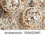 old country style muesli  | Shutterstock . vector #520422487
