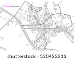 city view  map abstract ... | Shutterstock .eps vector #520432213