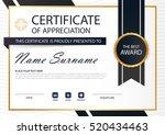 gold black elegance horizontal...   Shutterstock .eps vector #520434463