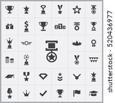 award icons universal set for... | Shutterstock .eps vector #520436977