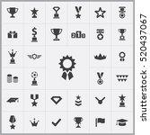 award icons universal set for... | Shutterstock .eps vector #520437067