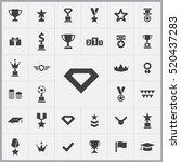diamond icon. award icons...   Shutterstock .eps vector #520437283
