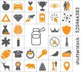 medicine bottle line icon   Shutterstock .eps vector #520466383