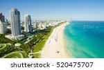 south beach  miami beach.... | Shutterstock . vector #520475707