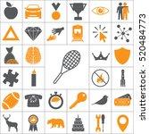 tennis racket icon   Shutterstock .eps vector #520484773