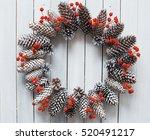 Beautiful Christmas Wreath On...