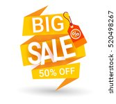 special offer discount big sale ... | Shutterstock .eps vector #520498267