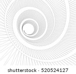 abstract architecture 3d design | Shutterstock .eps vector #520524127