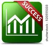success  statistics icon  green ... | Shutterstock . vector #520555333