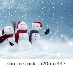 merry christmas and happy new... | Shutterstock . vector #520555447