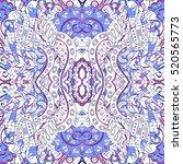 tracery seamless calming... | Shutterstock . vector #520565773