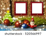 Cute Christmas Two Empty Photo...