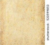 realistic brown cardboard... | Shutterstock .eps vector #520599853