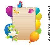 holiday | Shutterstock .eps vector #52062808