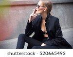 fashion close up fine art... | Shutterstock . vector #520665493