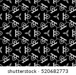 abstract geometric seamless... | Shutterstock .eps vector #520682773