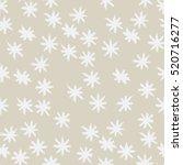 vector seamless winter pattern... | Shutterstock .eps vector #520716277
