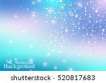 structure molecule dna. atom....   Shutterstock .eps vector #520817683