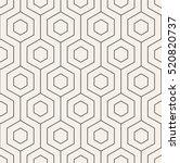 vector seamless pattern. modern ... | Shutterstock .eps vector #520820737
