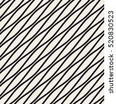 vector seamless black and white ... | Shutterstock .eps vector #520830523