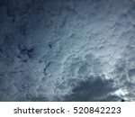 Small photo of Altocumulus Cloud.