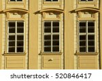 classic windows and facade of... | Shutterstock . vector #520846417